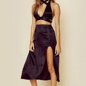 For love and Lemons Gabriella button up skirt